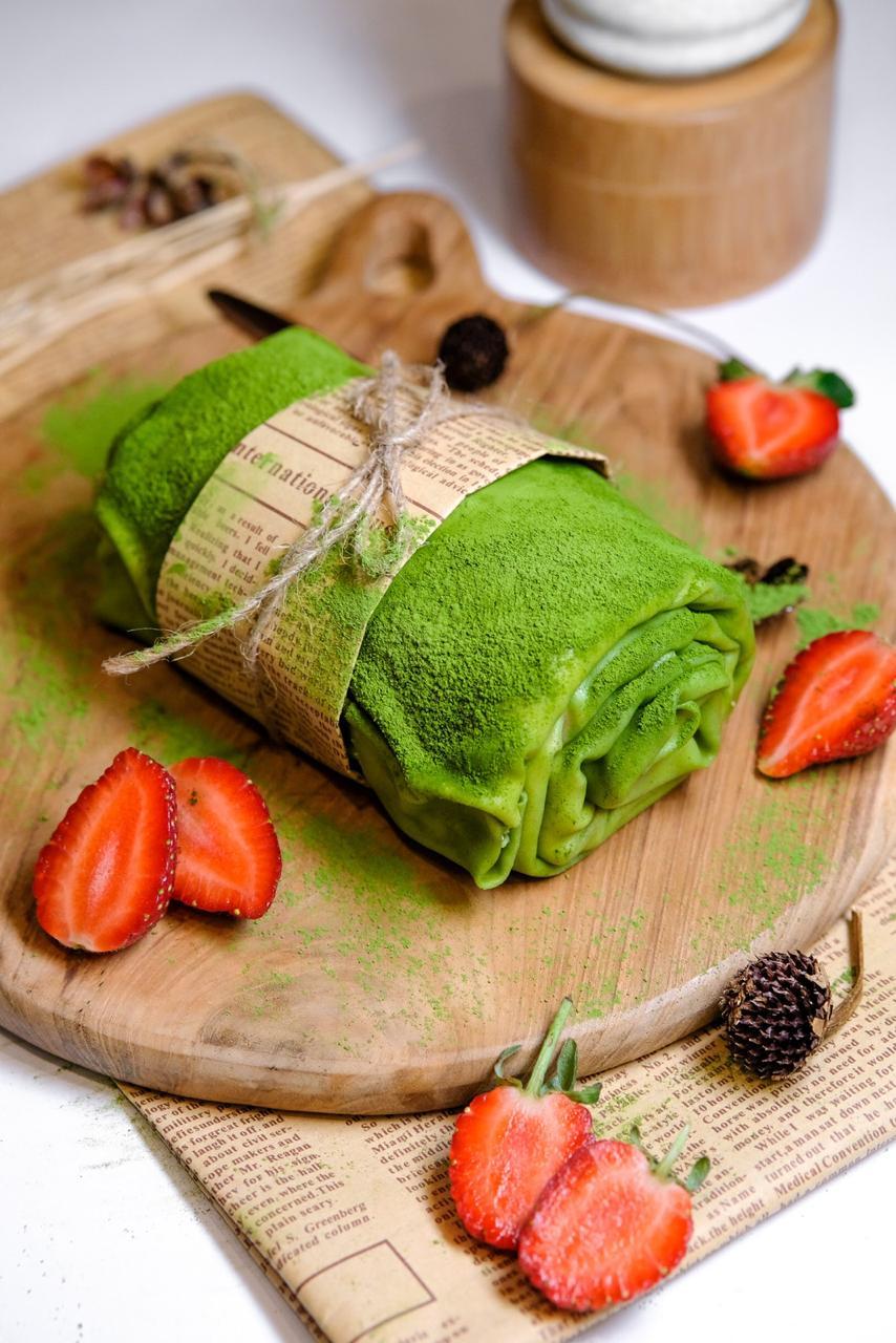Matcha Towel Roll